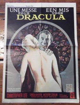 Taste the Blood of Dracula, Christopher Lee, Linda Hayden, *Hammer Horror* '70